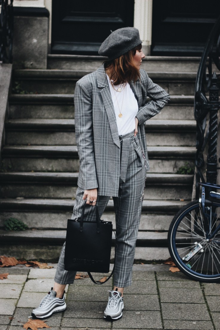 nickyinsideout - shopping - suit with trainers