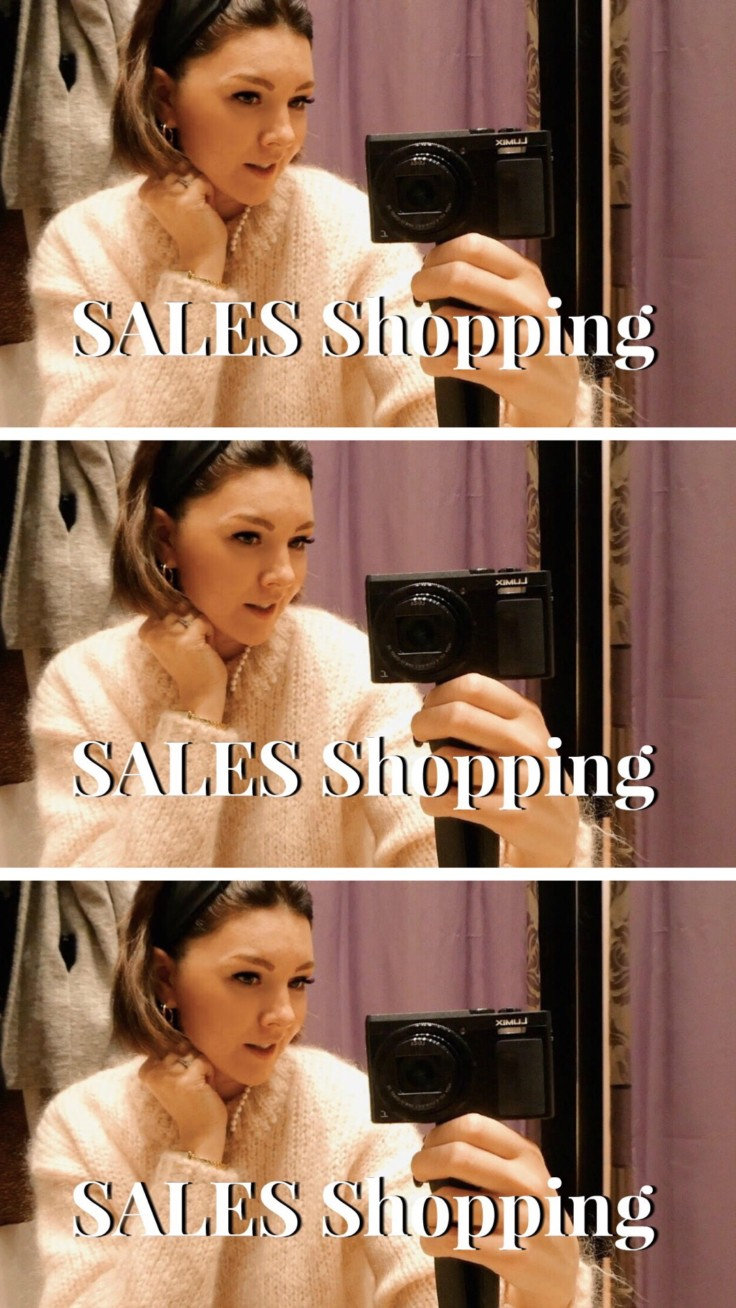 WINTER SALES High Street + Designer   Come Shopping with Me