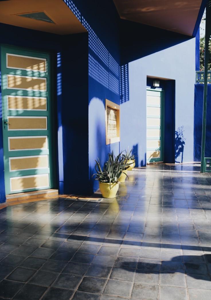marrakech - jardin majorelle - nickyinsideout - nicole ballardini - architecture
