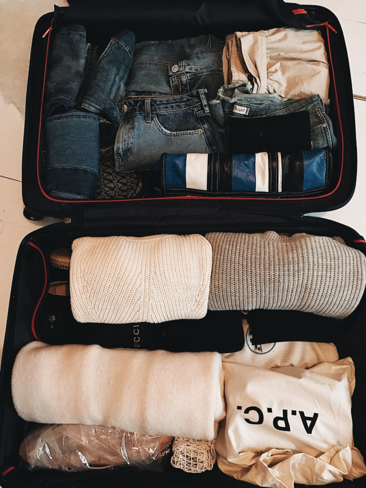 nickyinsideout - tips to pack - packing guide - suitcase packing