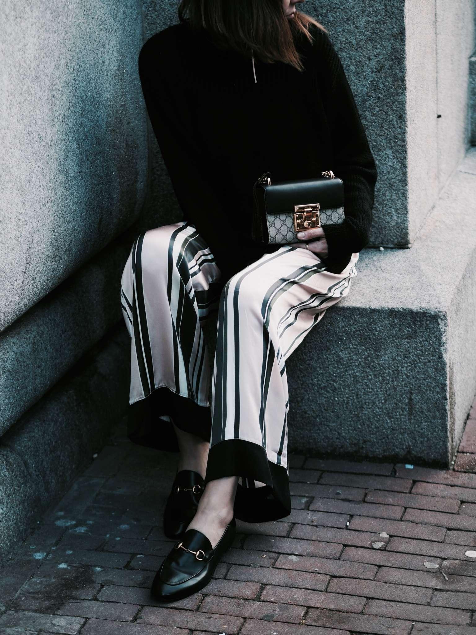 pajama fashion trend, pajama dressing, pajama trend, silk, comfort