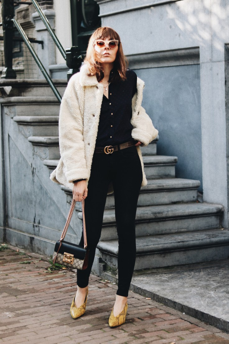 nickyinsideout - teddy coat - winter fashion