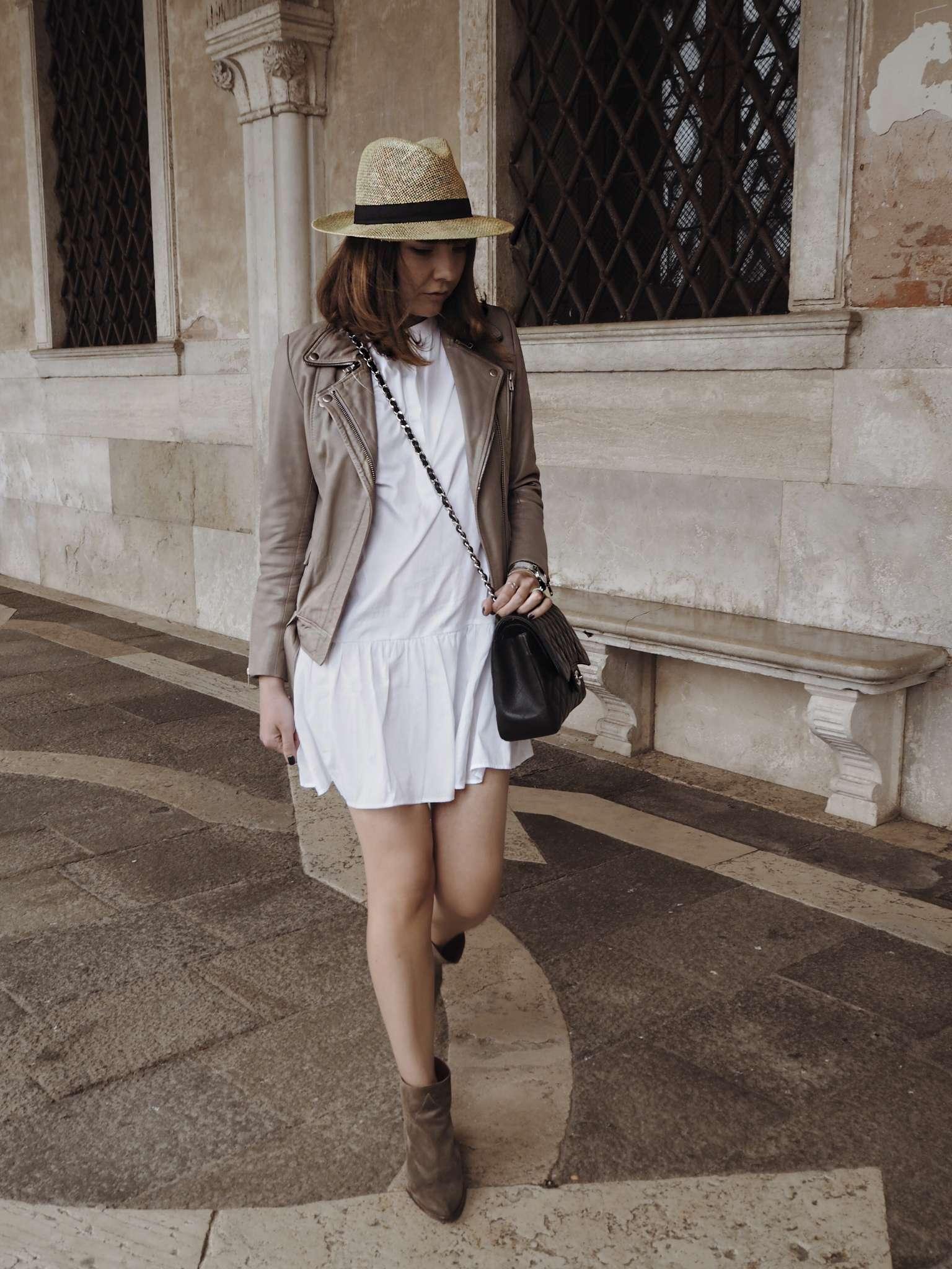chanel-jumbo-dainty-jewelry-laura-gravestock-leather-jacket-lemonb-nicole-vienna-shirt-dress-silver-jewellery-white-dress-white-shirt-spring-summer-trends