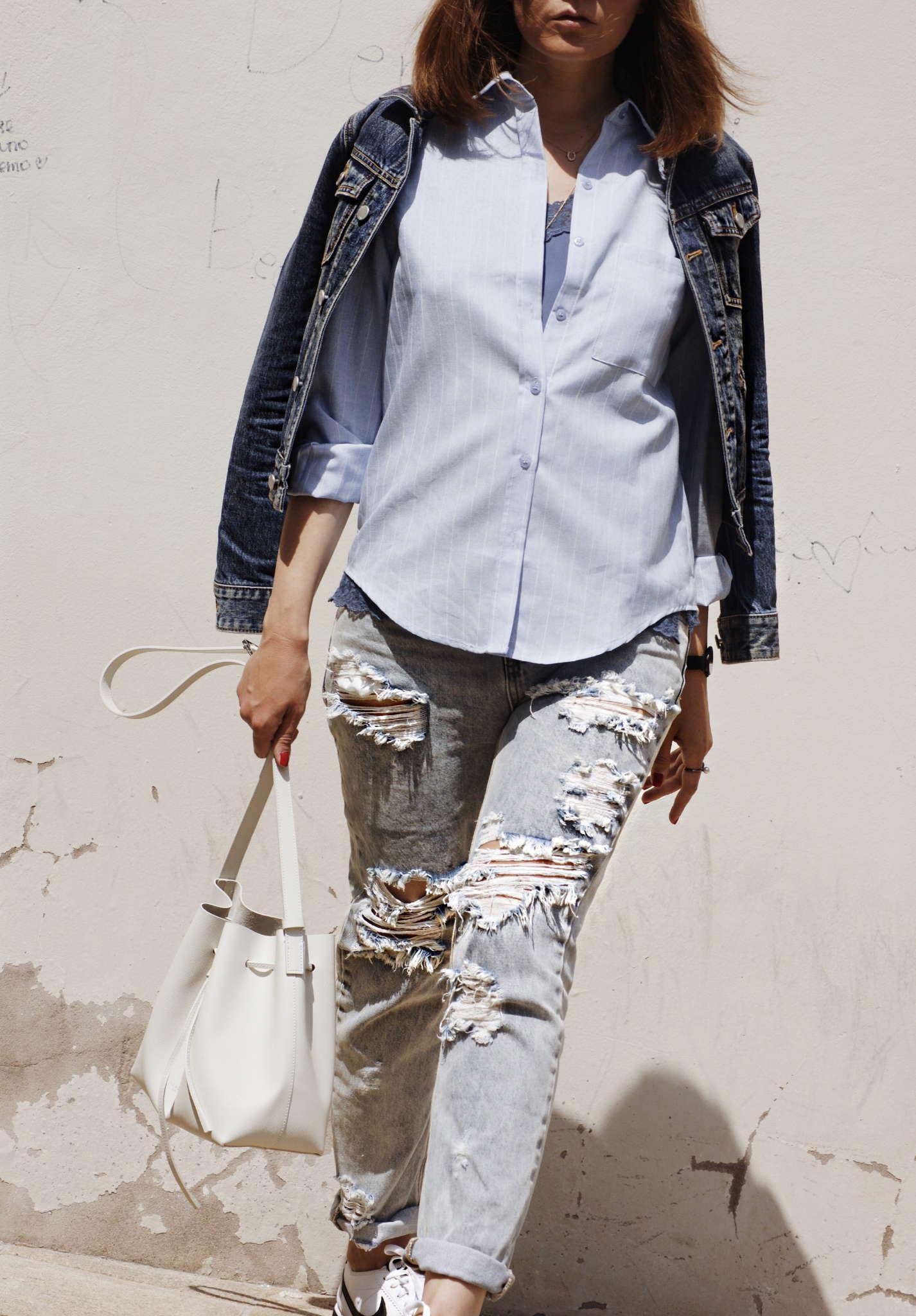 BLK-DNM-blue-silk-top-bucket-bag-cluse-watches-cortez-distressed-denim-jane-koenig-jikx-lancaster-modemusthaves-nike-one-teaspoon-round-sunglasses-white-sneakers-zero-uv