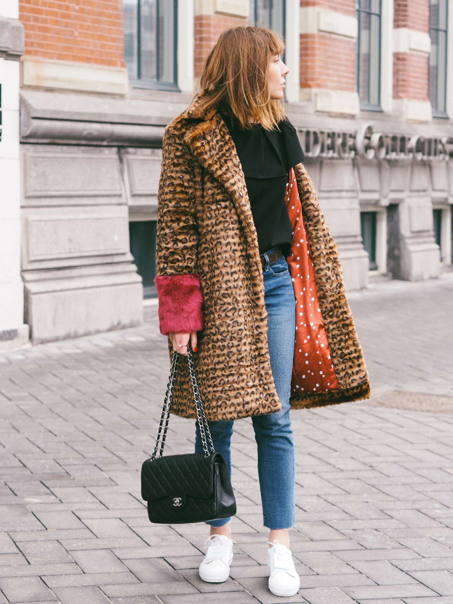 nickyinsideout - leopard print - new year resolutions - fall/winter inspiration - Etsy - faux fur - jacket/coat - street style - Etsy Resolution - full time blogger