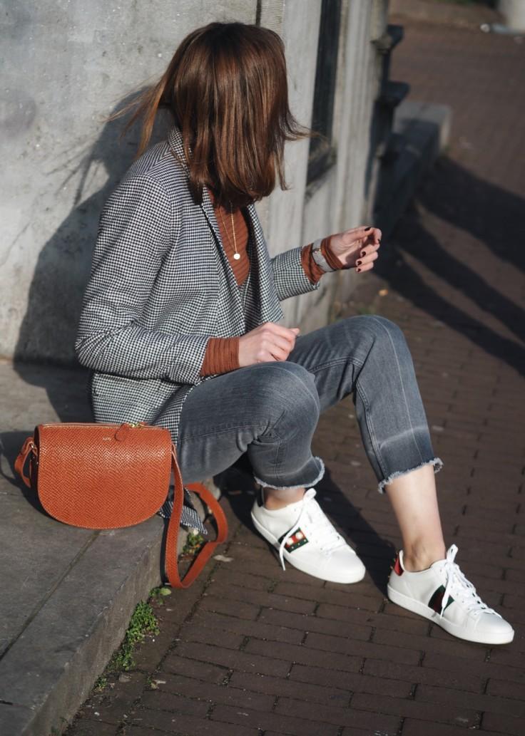 nickyinsideout - check blazer - street style - fashion week - top 5