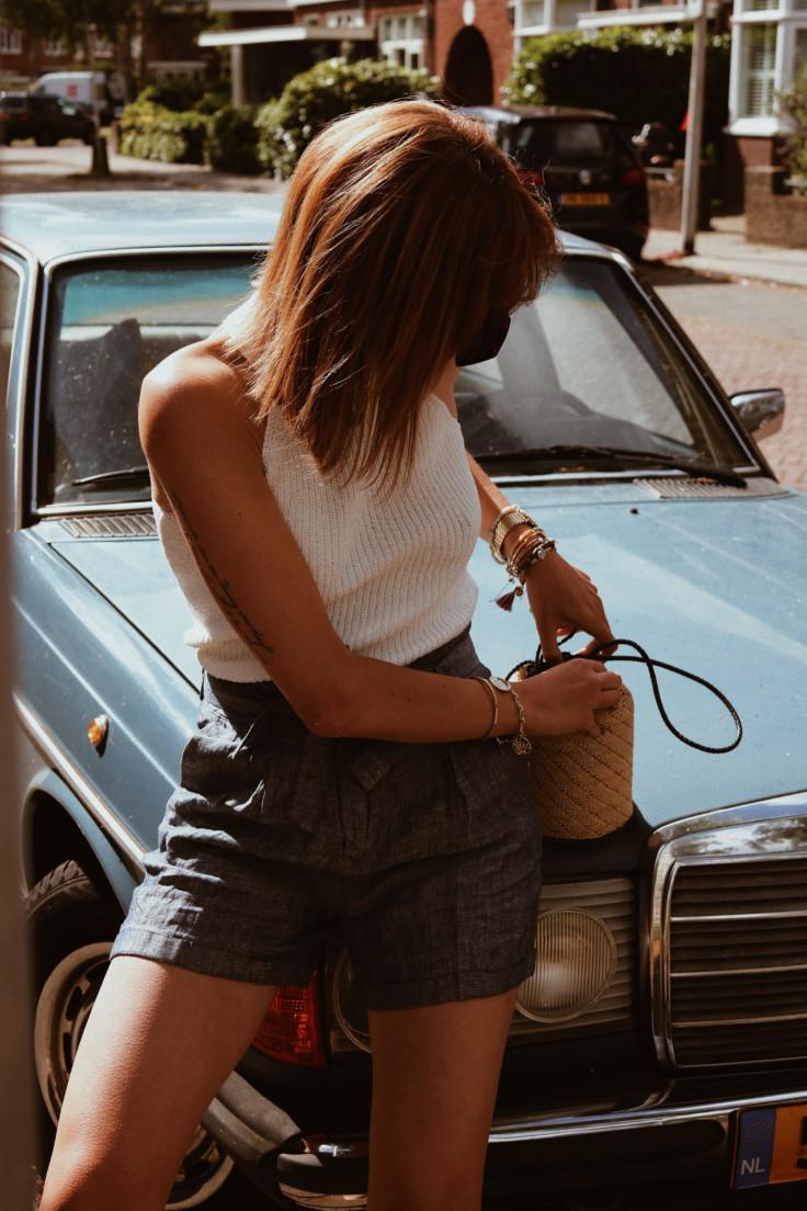 nicole ballardini - paperbag waist - summer trend - opus fashion